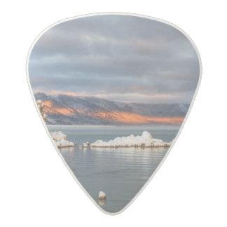 USA, California, Sunrise at Mono Lake Acetal Guitar Pick