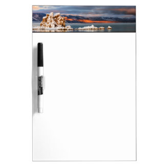 USA, California, Sunrise at Mono Lake Dry Erase Board