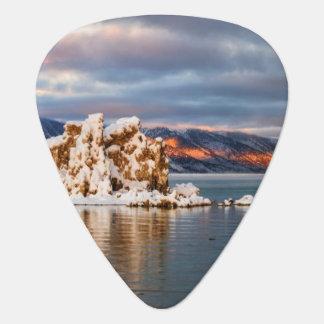 USA, California, Sunrise at Mono Lake Guitar Pick