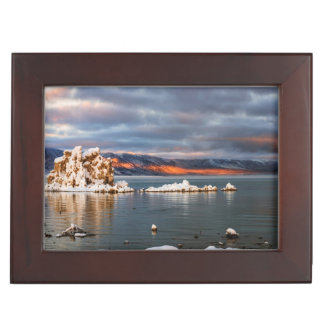 USA, California, Sunrise at Mono Lake Memory Boxes