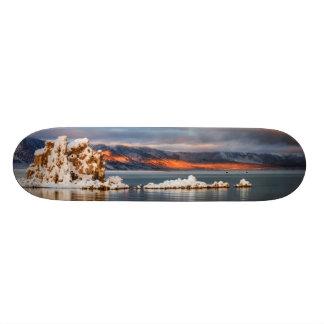 USA, California, Sunrise at Mono Lake Skate Deck