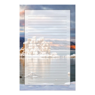 USA, California, Sunrise at Mono Lake Stationery