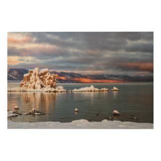 USA, California, Sunrise at Mono Lake Wood Print