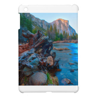 USA, California. Tree Roots In Merced River Cover For The iPad Mini