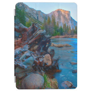 USA, California. Tree Roots In Merced River iPad Air Cover