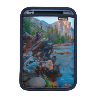 USA, California. Tree Roots In Merced River iPad Mini Sleeve