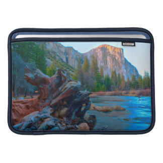 USA, California. Tree Roots In Merced River Sleeve For MacBook Air