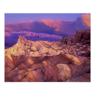 USA, California. View from Zabriske Point of Poster