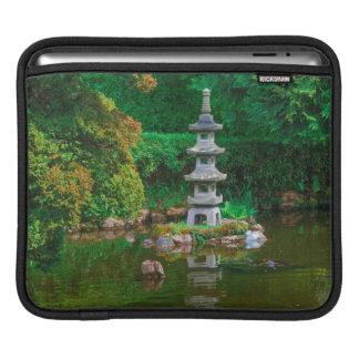 USA, California. View Of A Pond iPad Sleeve