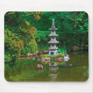 USA, California. View Of A Pond Mouse Mat