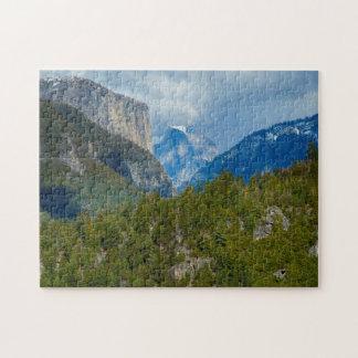 USA, California. View Of Half Dome In Yosemite Jigsaw Puzzle