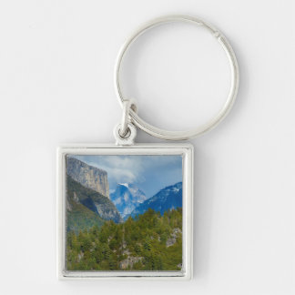 USA, California. View Of Half Dome In Yosemite Key Ring