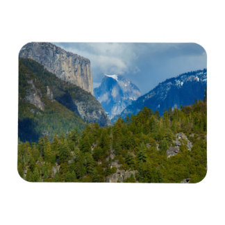 USA, California. View Of Half Dome In Yosemite Magnet