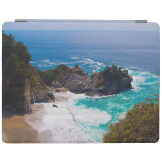 USA, California. View Of Mcway Falls iPad Cover