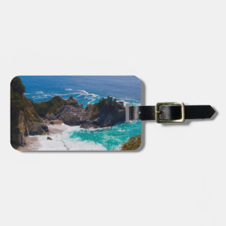 USA, California. View Of Mcway Falls Luggage Tag