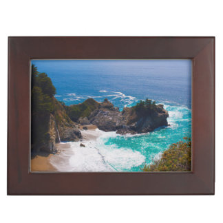 USA, California. View Of Mcway Falls Memory Boxes