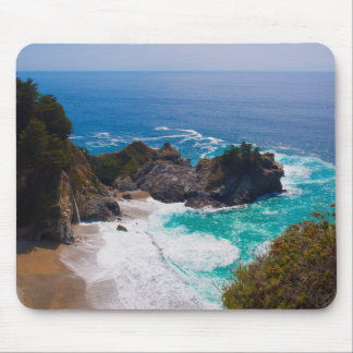USA, California. View Of Mcway Falls Mouse Mat