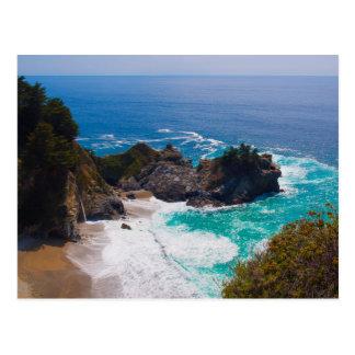 USA, California. View Of Mcway Falls Postcard