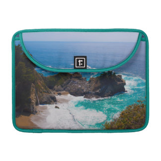 USA, California. View Of Mcway Falls Sleeve For MacBook Pro