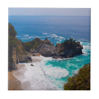 USA, California. View Of Mcway Falls Tile