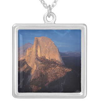 USA, California, Yosemite National Park, 3 Silver Plated Necklace