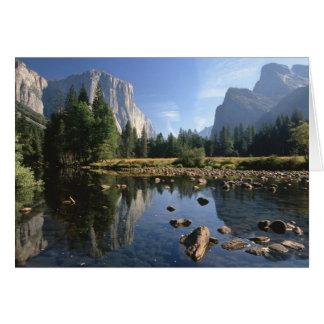 USA, California, Yosemite National Park, 5 Greeting Card