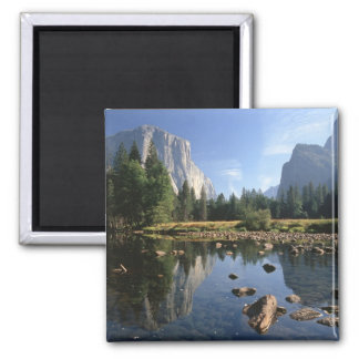 USA, California, Yosemite National Park, 5 Square Magnet
