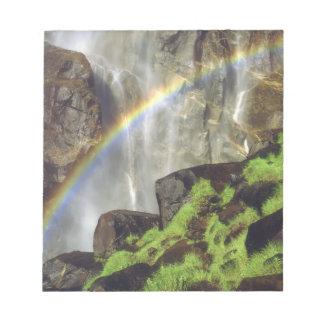 USA, California, Yosemite National Park. A Notepad