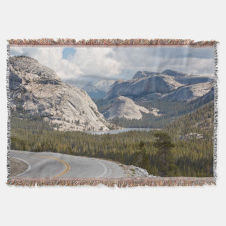 USA, California, Yosemite National Park Throw Blanket