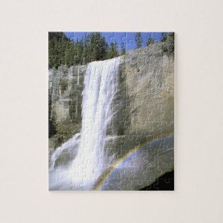 USA, California, Yosemite National Park. Vernal Jigsaw Puzzle