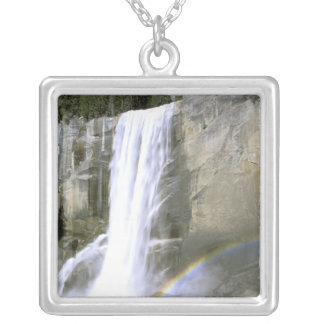 USA, California, Yosemite National Park. Vernal Silver Plated Necklace