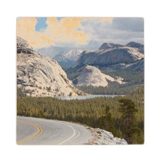 USA, California, Yosemite National Park Wood Coaster