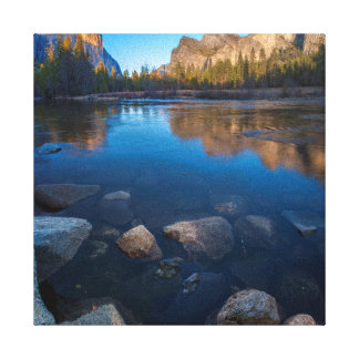 USA, California. Yosemite Valley View 2 Gallery Wrap Canvas