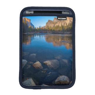 USA, California. Yosemite Valley View 2 iPad Mini Sleeve