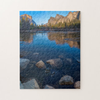 USA, California. Yosemite Valley View 2 Jigsaw Puzzle