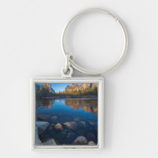 USA, California. Yosemite Valley View 2 Key Ring