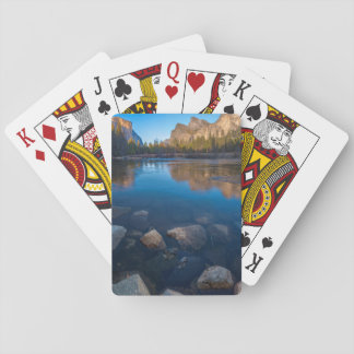 USA, California. Yosemite Valley View 2 Playing Cards