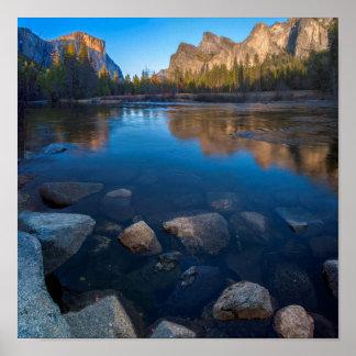 USA, California. Yosemite Valley View 2 Poster