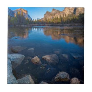 USA, California. Yosemite Valley View 2 Tile