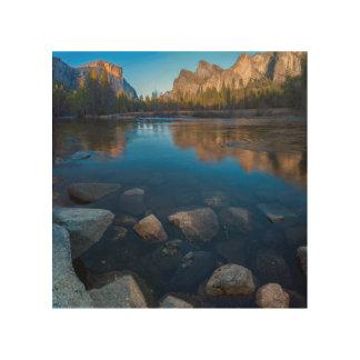 USA, California. Yosemite Valley View 2 Wood Canvas