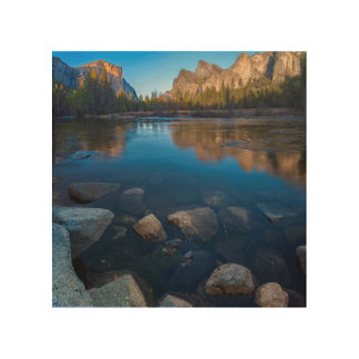 USA, California. Yosemite Valley View 2 Wood Print