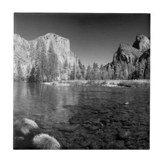 USA, California. Yosemite Valley View Tile