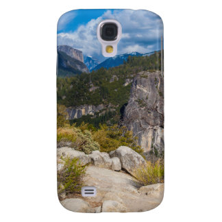 USA, California. Yosemite Valley Vista 2 Galaxy S4 Case
