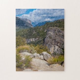 USA, California. Yosemite Valley Vista 2 Jigsaw Puzzle