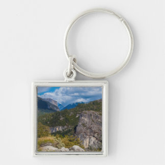 USA, California. Yosemite Valley Vista 2 Key Ring