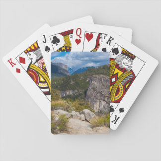USA, California. Yosemite Valley Vista 2 Playing Cards