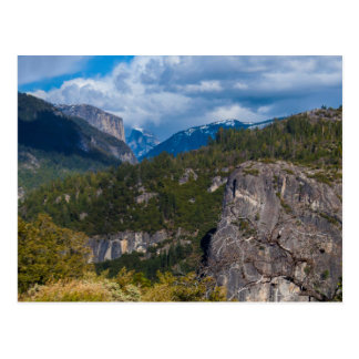 USA, California. Yosemite Valley Vista 2 Postcard