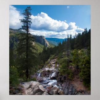 USA, California. Yosemite Valley Vista 2 Poster