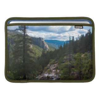 USA, California. Yosemite Valley Vista MacBook Sleeve