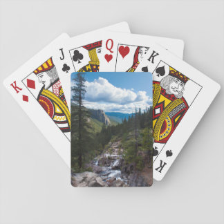 USA, California. Yosemite Valley Vista Playing Cards